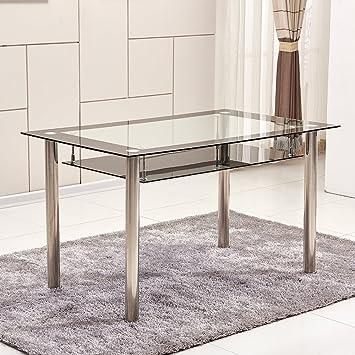 Ospi A 2 Etages En Verre Transparent Temepred Table De Salle A