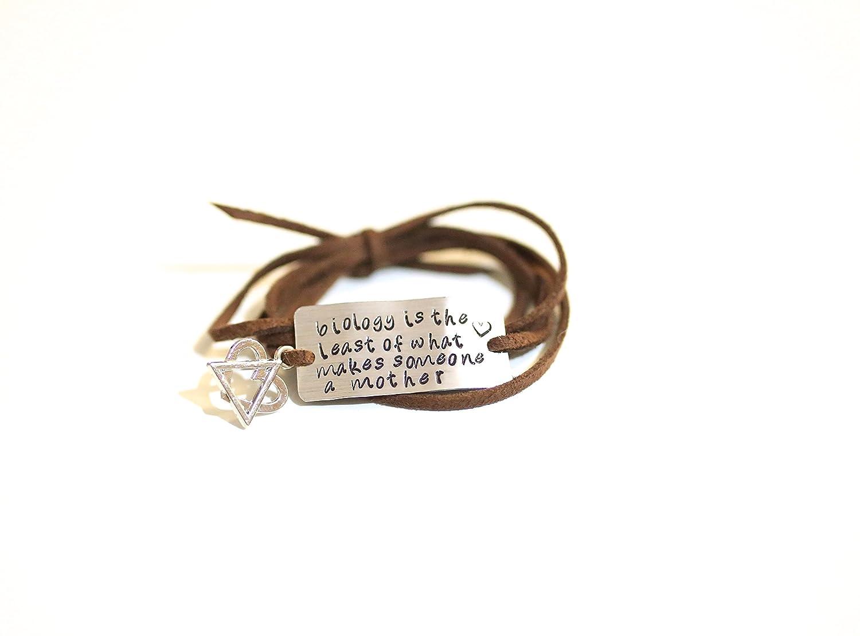 Adoption bracelet, gift for adoptive mother, christmas gift for her