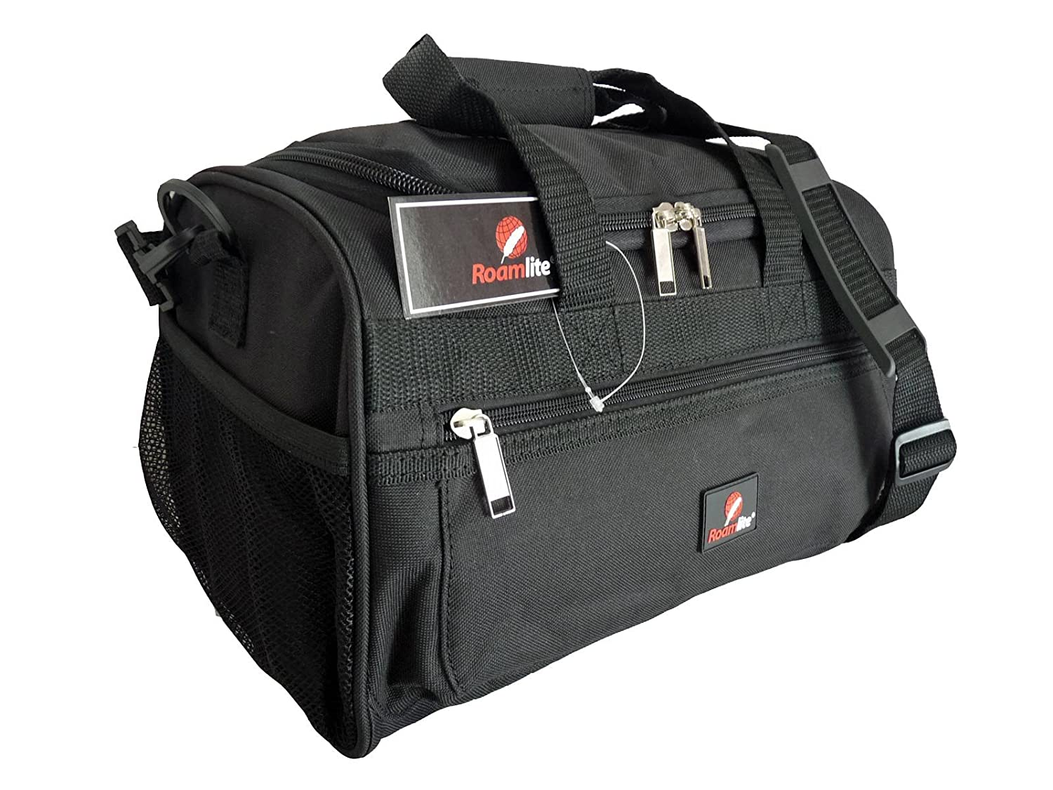 Small Holdalls - Ryanair 2nd Item of Hand Luggage Size Bags - Exact Size  Holdall 35 x 20 x 20 cm - Black Cabin Bag - Super Lightweight 0.4kg - Under  SEAT ... 9b30c626037ab