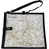 Highlander MAP004 Wanderer Waterproof Hiking Map Case Cover/ Neck Strap