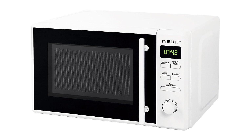 Nevir NVR-6031 MD Encimera 20L 700W Blanco - Microondas ...