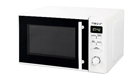 Nevir NVR-6031 MD Encimera 20L 700W Blanco - Microondas (Encimera ...