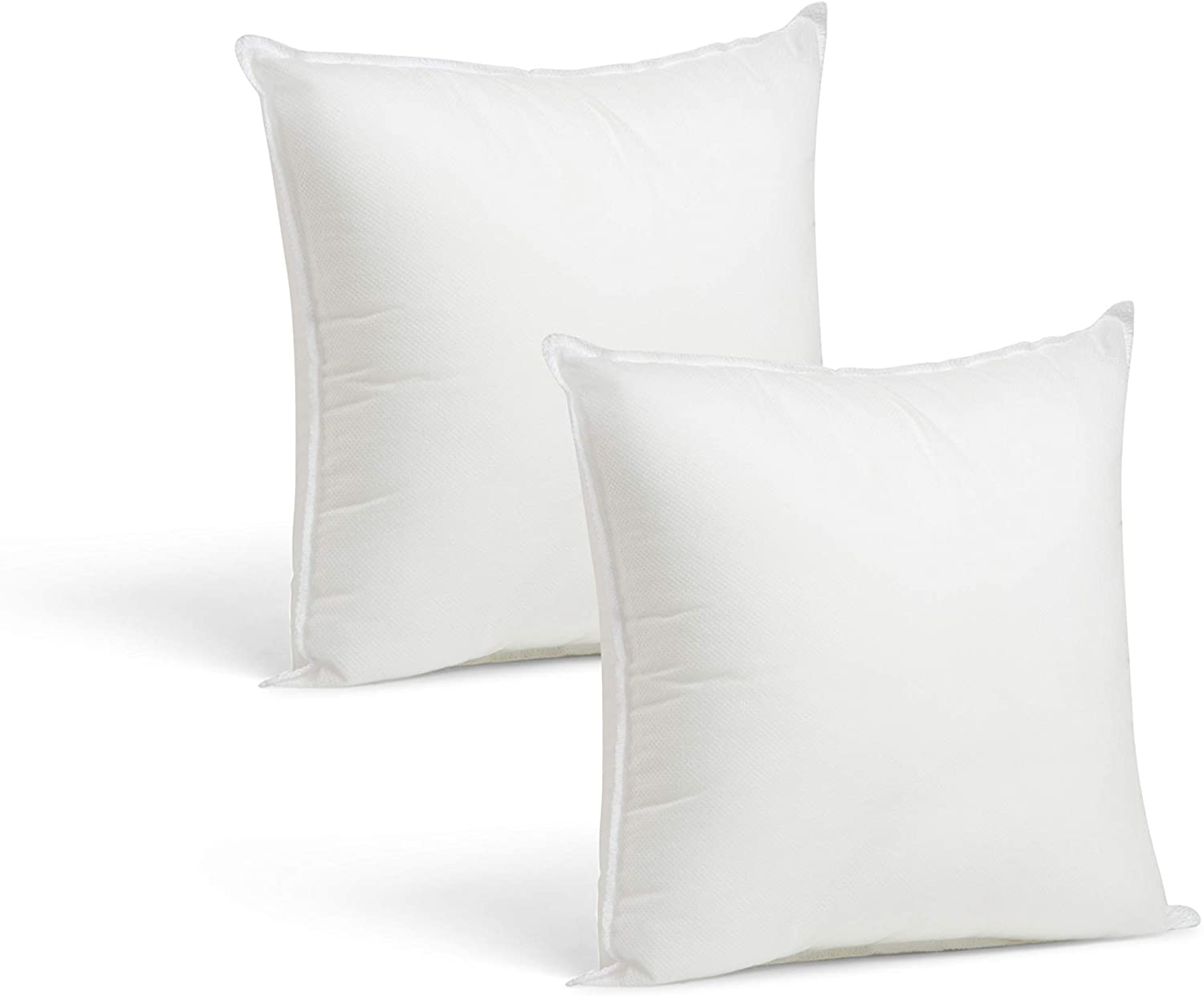 """12x12/"""" Throw Pillow Inserts Sham Stuffing Made in USA Hypoallergenic Form Insert"""