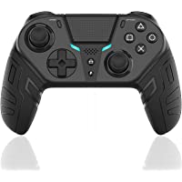 Controle Sem Fio DualShock 4 para PS4 Elite/Slim/Pro, Joystick de Jogos USB Bluetooth com Porta para Fone de Ouvido de 3…