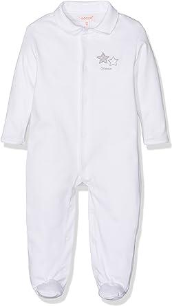 Gocco S76LPLNA501 Conjuntos de Pijama, Blanco, 6-9 Meses para ...