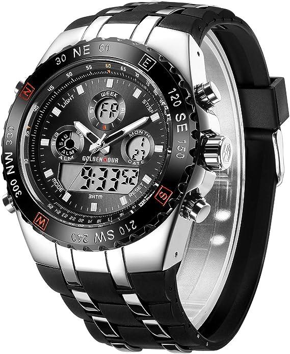 Amazon.com: Golden Time - Reloj de pulsera para hombre ...