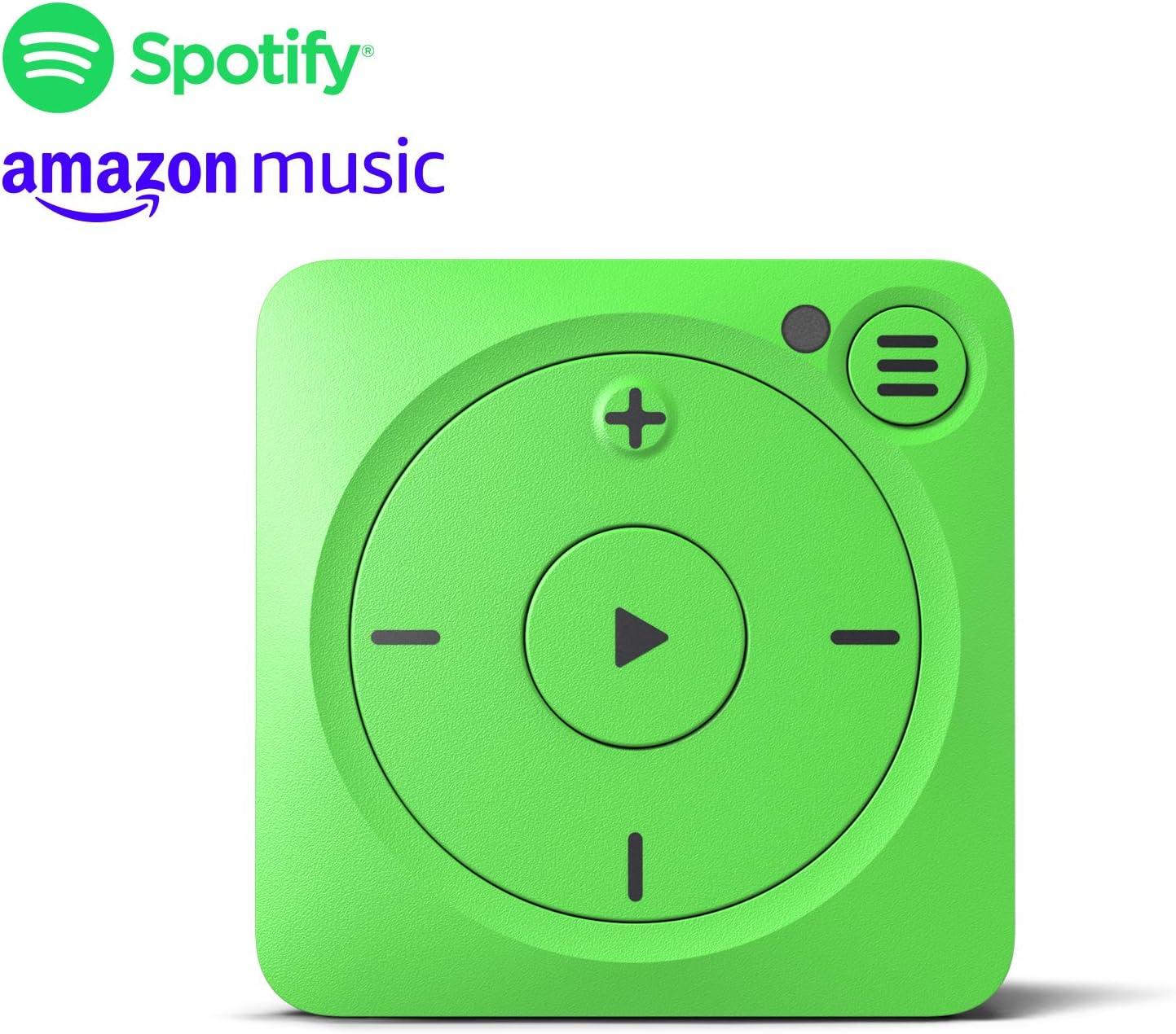 Mighty Vibe Reproductor de música Spotify y Amazon Music - Shamrock Green - Clip Deportivo, para Auriculares Bluetooth y con Cable - Reproductor Streaming MP3 sin Necesidad de tu teléfono