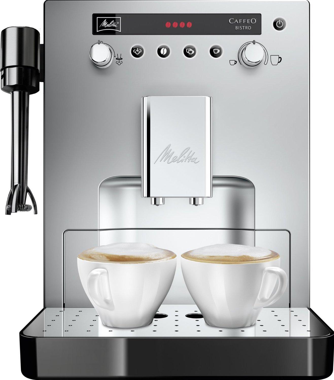 Amazon.com: Melitta Caffeo bistro E960 – 107 – plata café ...