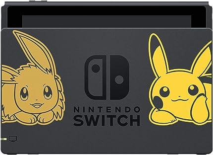 Amazon Com Nintendo Switch Console Bundle Pikachu Eevee Edition