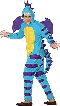Atosa-26897 Disfraz Dragón, Color Azul, XL (26897): Amazon.es ...