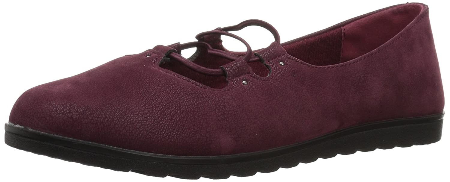 Easy Street Women's Effie Flat B071255HQ3 6.5 W US|Burgundy