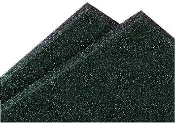 Monacor 12.5960 10 mm de espuma acústica Par Delantero Hoja para el altavoz