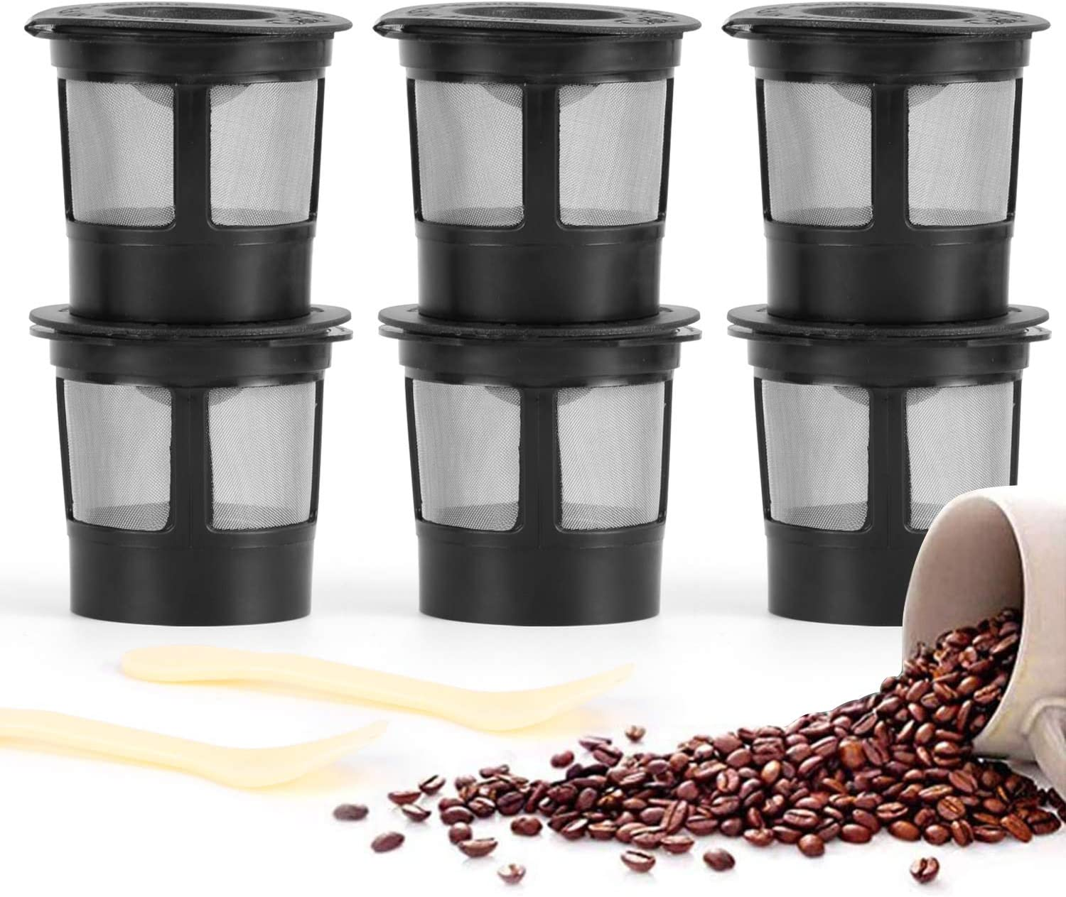 Aooba Coffee Scoop für Refillable Capsules für K Cup Filter