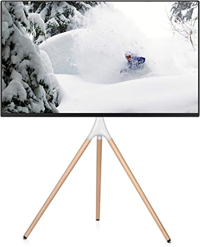 EleTab Artistic Easel 45 to 65 inches LED LCD Screen Tripod TV Display Stand Adjustable TV Mount