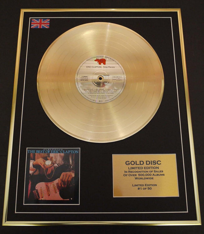 ERIC CLAPTON Goldene Schallplatte Record Limitierte Edition TIMEPIECES