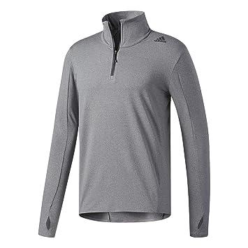 67298f77a379a adidas Supernova 1/2 ZIP, Men Sweatshirt Sweatshirt, Black (Black/Colhtr