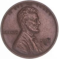 1931 D Lincoln Wheat Cent Extra Fine Penny