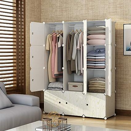 Amazon.com: KOUSI Portable Closet Wardrobe Organizer Clothes