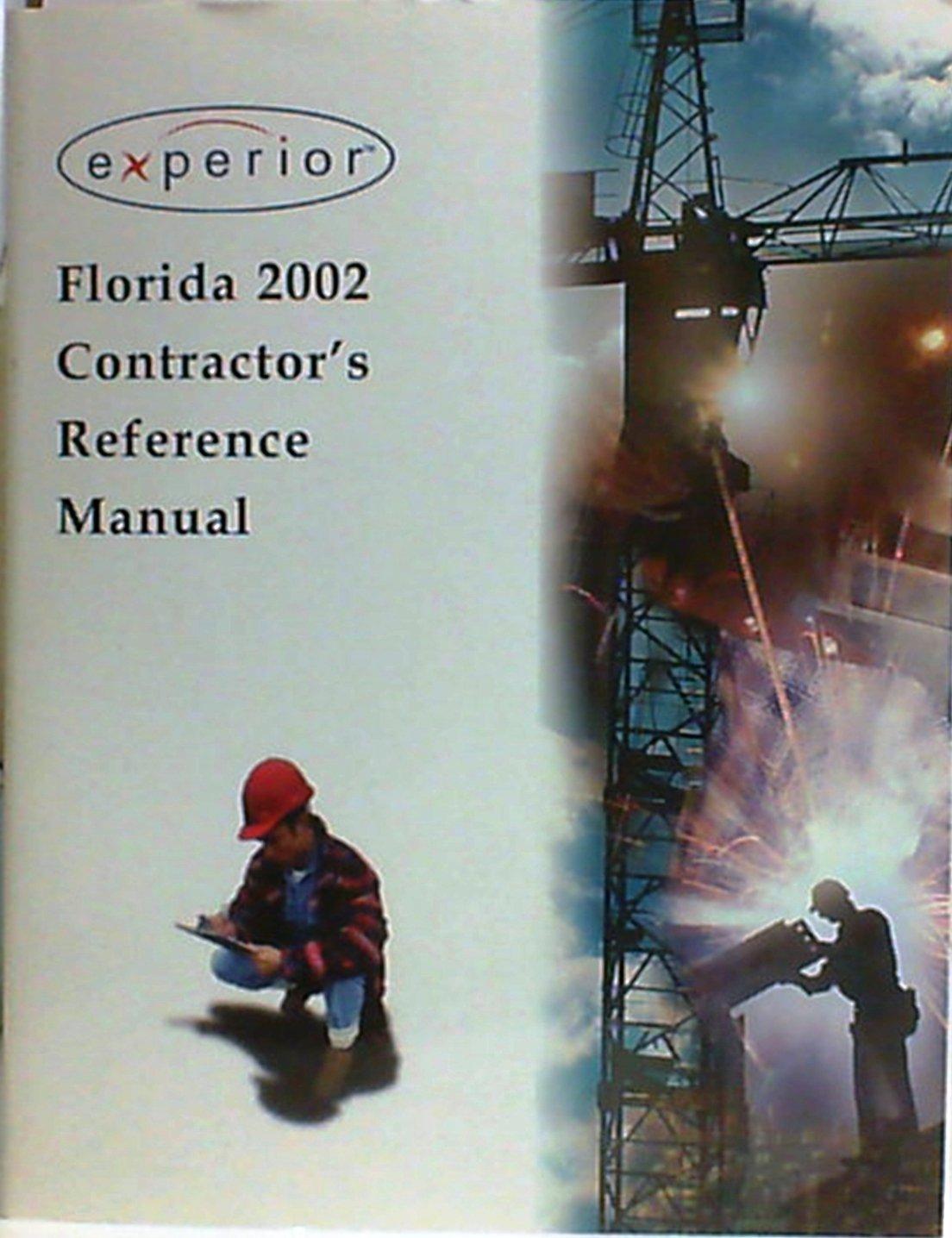 Florida Contractor's Reference Manual 2002 pdf epub