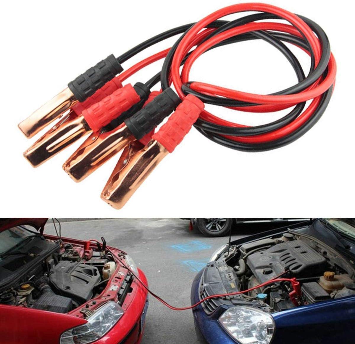 Dibiao 500A batterie de secours de cavalier de d/émarreur de batterie de secours de c/âbles dappoint de voiture supportable de c/âbles pour le camion dessence diesel de voiture