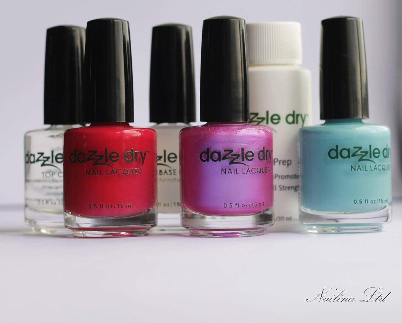 Amazon.com : Dazzle DryTM Nail Polish System Kit 6 pc : Dazzle Dry ...