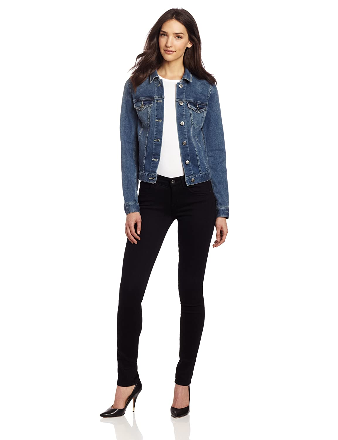 e6b7edf268 Two by Vince Camuto Women s Jean Jacket at Amazon Women s Coats Shop
