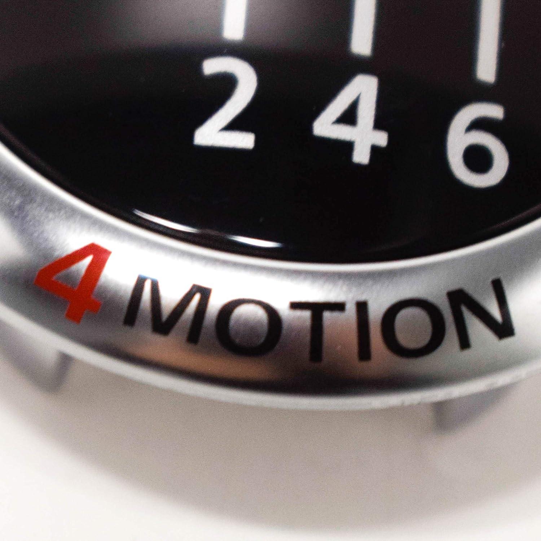rouge 1K0711144M Accessoires dorigine Volkswagen couleur chrome Badge 4MOTION pour bouton