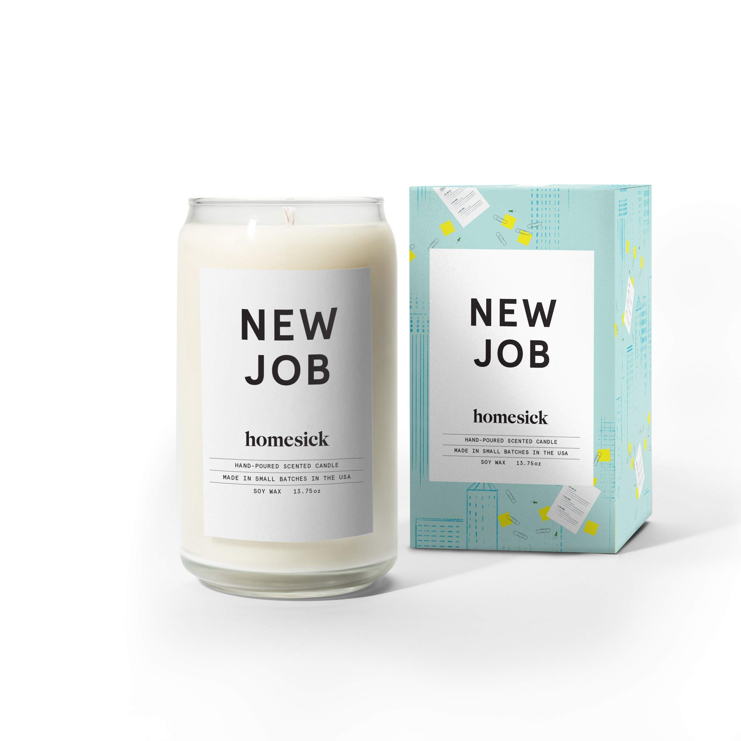 Homesick Scented Candle, New Job