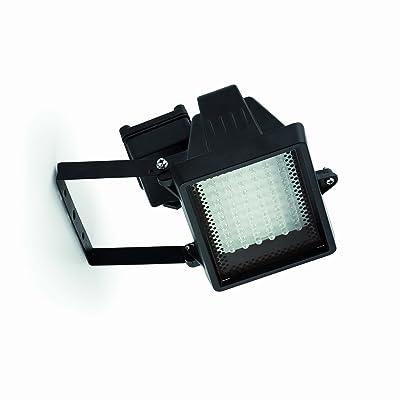 barcellona-70126Égée projecteur réflecteur Ampoule incluse, LED, 06W, injecté aluminium et verre transparent, couleur: noir
