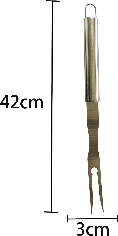 El Tenedor para Carne Artesanal Etc El Tenedor para Barbacoa Fre/ír Herran El Tenedor para Carne De Acero Inoxidable Se Pueden Usar para Cocinar