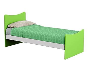 Struttura letto singolo in legno per cameretta bambini e ragazzi