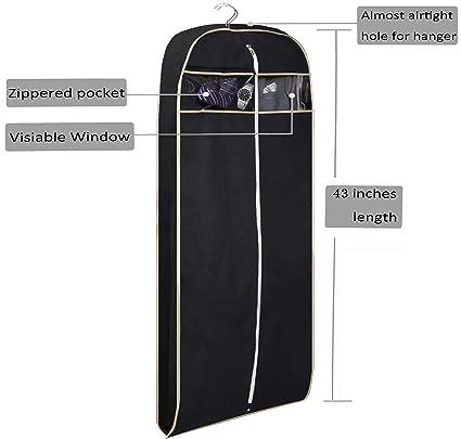 Amazon.com: Misslo - Bolsa para ropa de viaje con cremallera ...