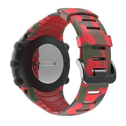 Suunto Core Bracelet de Rechange en Silicone pour Montre connectée Suunto Core D: Amazon.fr: High-tech