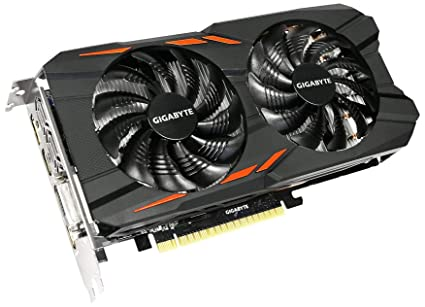 Gigabyte GeForce GTX 1050 Ti Windforce OC 4G GV-N105TWF2OC-4GD