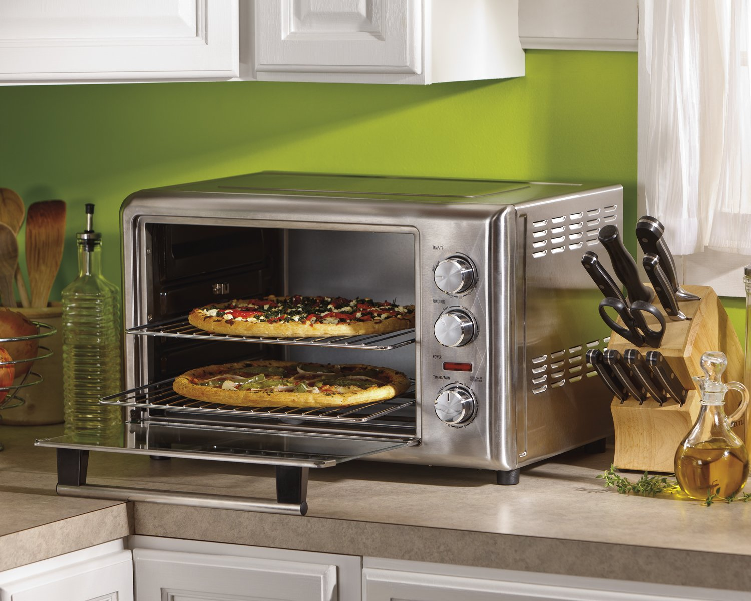 Amazon.com: Hamilton Beach 31103A Countertop Oven With Convection And  Rotisserie: Kitchen U0026 Dining