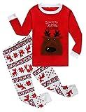 Amazon Price History for:Family Feeling Little Boys Girls' Flying Reindeer Christmas Pjs Cotton Pajama Sets