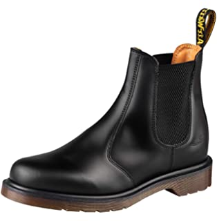 9aa540420df Amazon.com | Dr. Martens 2976 Chelsea Boot, Black Smooth | Boots
