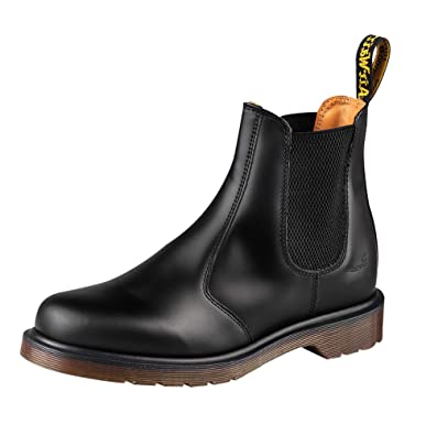 6f4ac707868c4 Amazon.com | Dr. Martens 2976 Chelsea Boot, Black Smooth | Boots