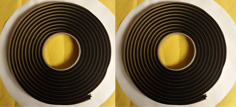 "QTY2 Butyl Tape BY 3M Window Weld Ribbon Sealer 08620 1/4""x15ft tacky adhesive"
