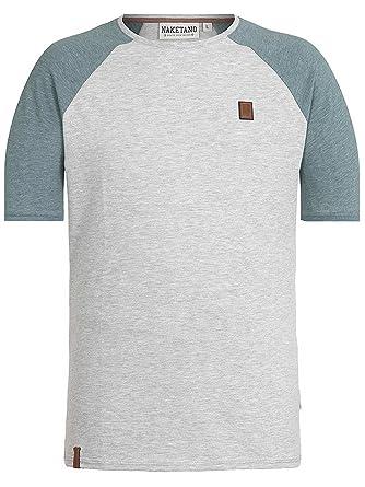 T Shirt Men Naketano Dachrinne II T Shirt: Amazon.co.uk