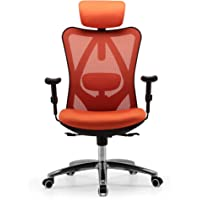 Sihoo Ergonomic Office Chair, Computer Desk Chair, 3D Adjustable High-Back, Breathable Skin-Friendly Mesh with Armrest…