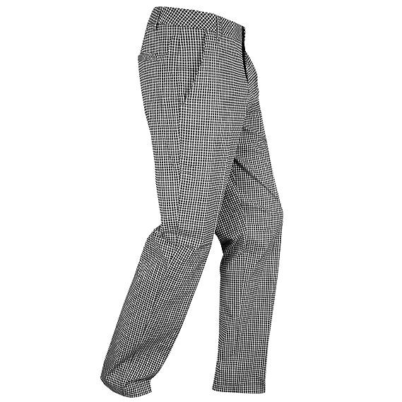 dff79adbb7a1 Puma Golf 2016 Mens Plaid Tech Pant Trousers - Black - 32-34  Amazon ...