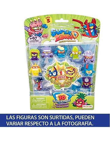 Superzings - Serie 3 - Blíster 10 figuras (1 figura dorada y 9 figuras regulares