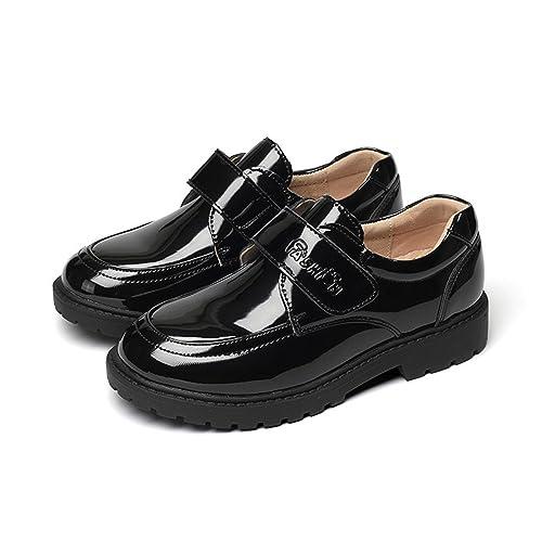 Mocasines para niños Zapatos para niños Pantalones de Rendimiento estudiantil Slip On Style Banda Sujetador Individual!: Amazon.es: Zapatos y complementos