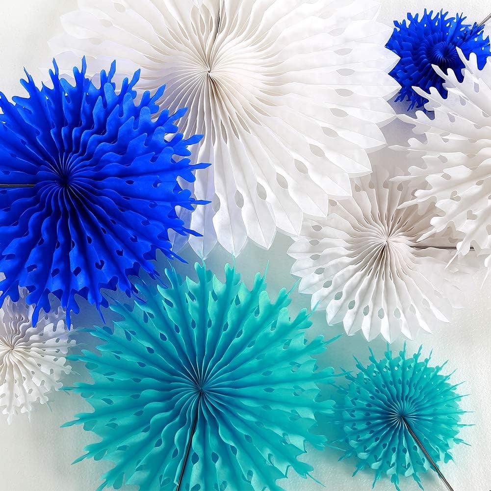 10pcs Under The Sea Theme Blue Party Decorations Kit Boy Birthday ...