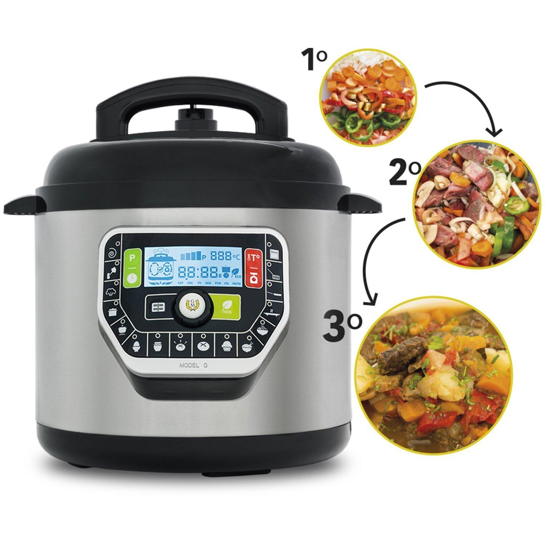 Ollas GM Modelo G Deluxe, Robot de Cocina programable multifunción ...