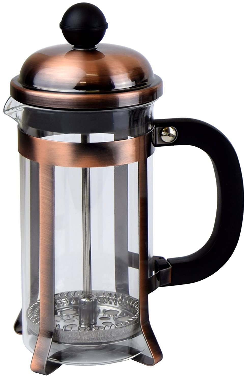 Coffee Press - Coffee Maker With Triple Filter System, 12 oz (350 ml) - Copper pcmam