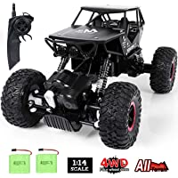 SGILE 1:14 Remote Control 4WD All-Terrain Off-Road Car for Kids