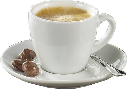 3 opinioni per Esmeyer Bistro- Set da 6 tazze da espresso 0,10 l, con piattini forma BISTRO-