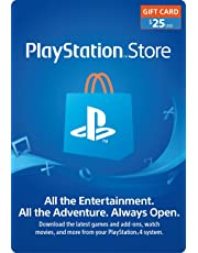 $25 PlayStation Store Gift Card [Digital Code]